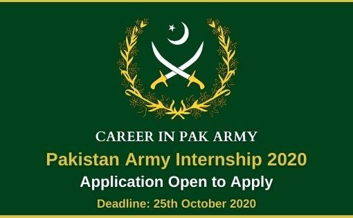 Pak Army Internship 2020