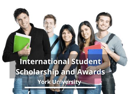 York University scholarship 2021