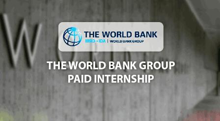World Bank Internship 2021