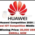Huawei Competition 2020   Huawei ICT Competition Middle East