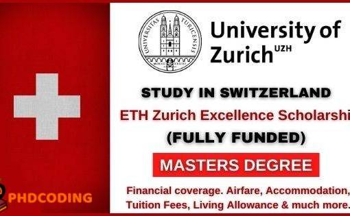 ETH Scholarship Switzerland 2021
