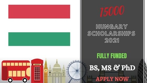 15000 Scholarships in Hungary 2021