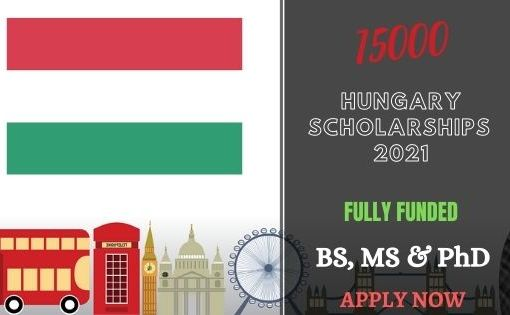 15000 Scholarships in Hungary 2021
