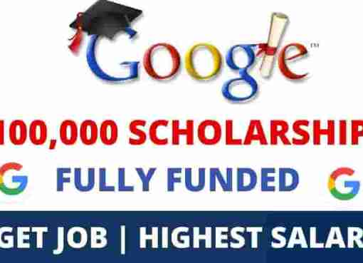 Google Scholarships 2021