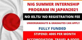 NIG Summer Internship Japan 2021