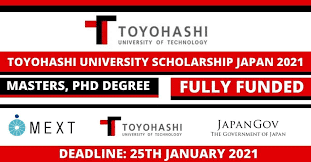 Toyohashi University of Technology Scholarship 2021