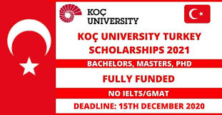 Koc University Scholarship in Turkey 2021
