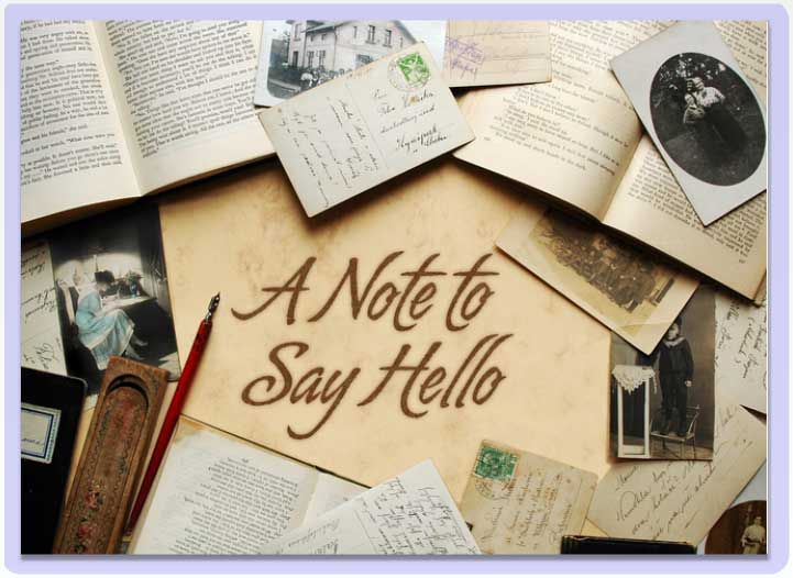 Note-to-say-Hello