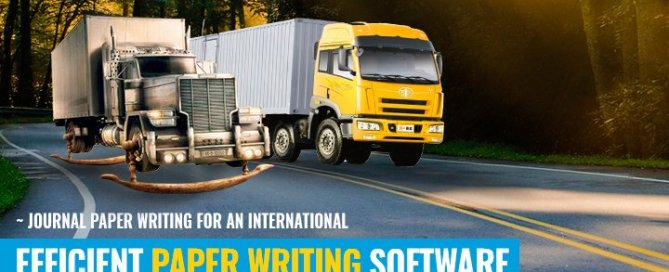 journal paper writing software