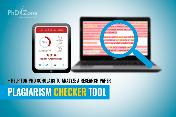 plagiarism checker tool help for phd scholars to analyze a research  view larger image plagiarism checker tool help