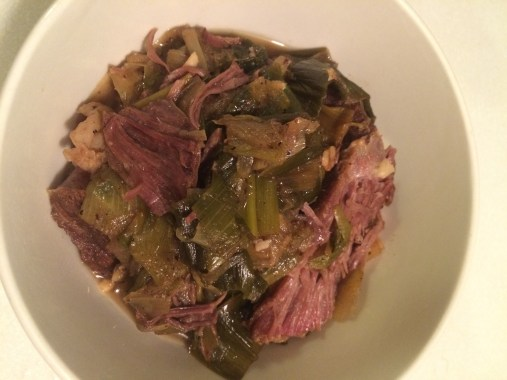 Four-Ingredient Marsala-Braised Beef on PhD Kitchen!