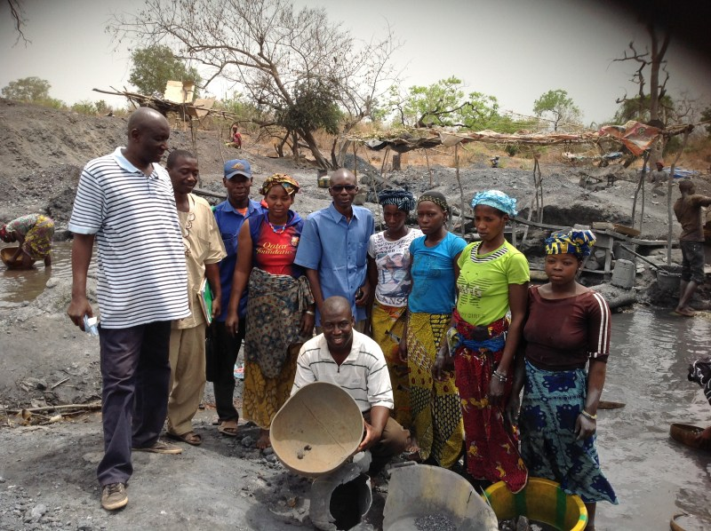 Day 5.2 Miners from an informal mine in Mali 2