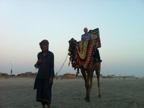 David in Karachi