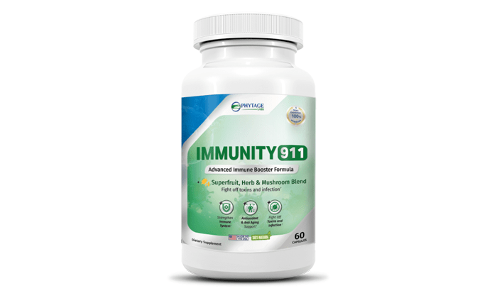 Immunity 911 review