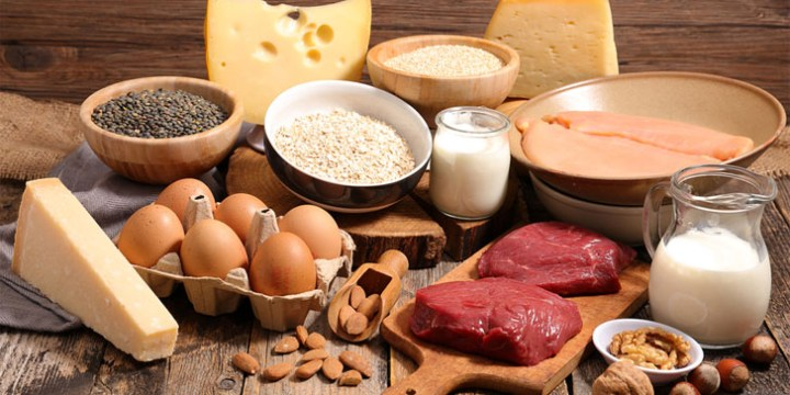 Include protein in your diet