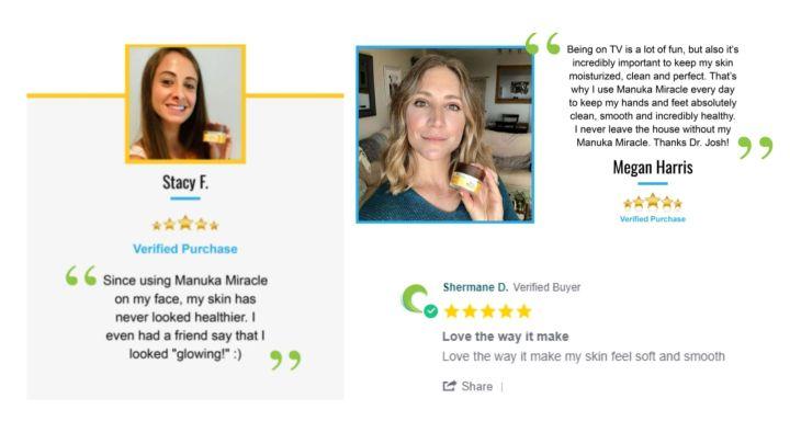 manuka miracle customer reviews