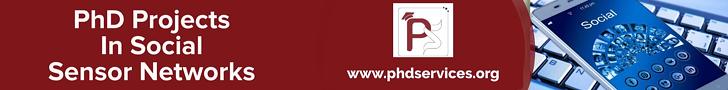 PhD Projects in Social Sensor Networks