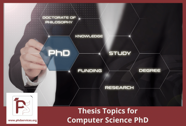 Tactics to choose best thesis topics for computer science PhD scholars