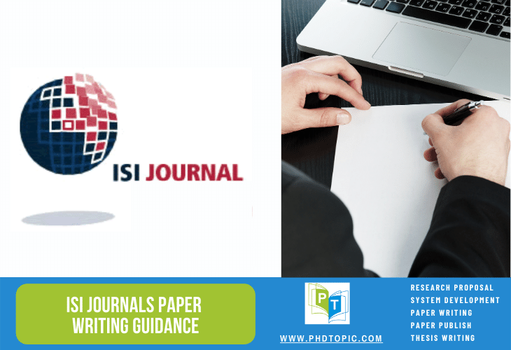ISI Journals Paper Writing Guidance Online