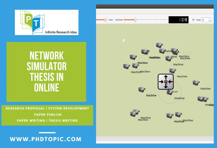 Online Help Network Simulator Thesis in Online