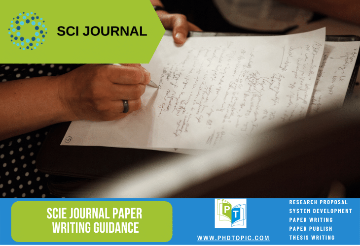 SCIE Journal Paper Writing Guidance Online