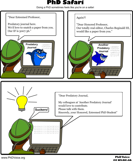 PhD Safari Predatory Journals PhD Voice