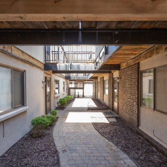 Pheasant Run, Apartment Buildings, Breezeway