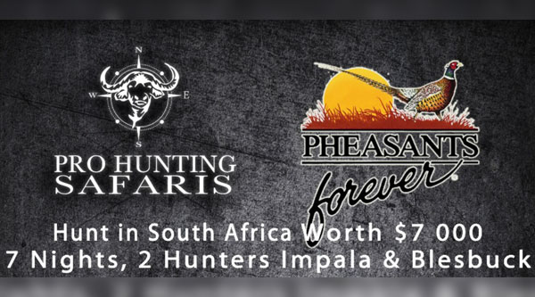 7-day Plains Game Hunt for 2 Banquet Donation