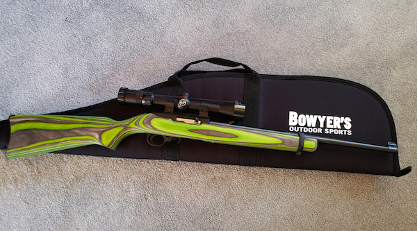 Ruger 10/22 Rifle with Scope Banquet Donation