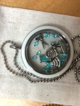 Sewing Themed Necklace