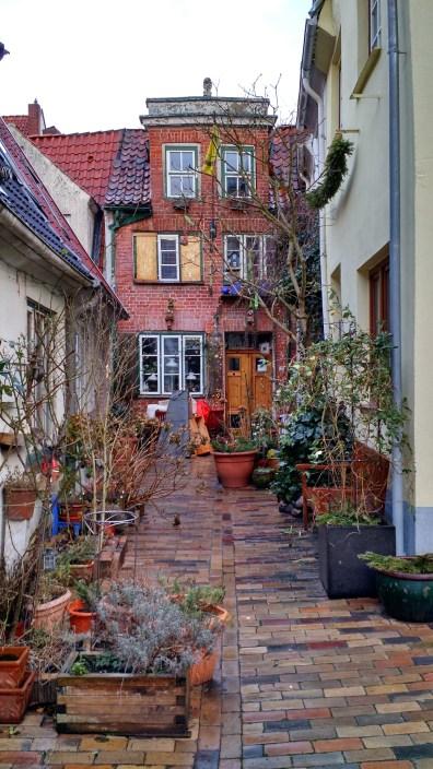 Back alleys.