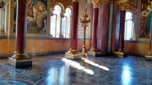 Neuschwanstein (forbidden interior pic of the concert hall).