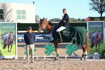 Jos Verlooy And Igor Win $132,000 Horseware Ireland Welcome Stake CSI5* At  Tryon Fall V - Phelps Sports