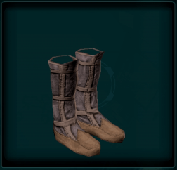 Panelled Boots