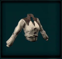 Leather Trim Shirt