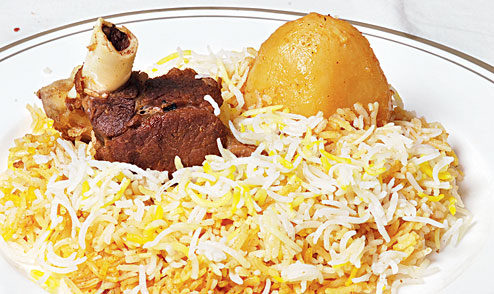 Mutton Biryani photo credit - Telegraph India