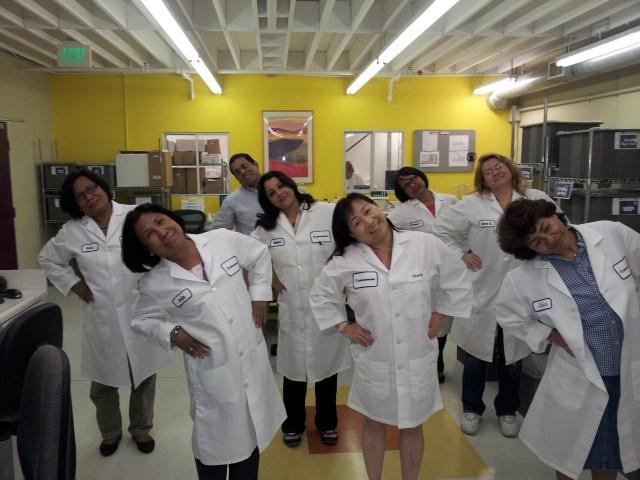 lab exercise happy phenomenex scientist