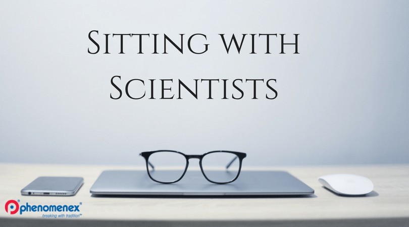Sitting with scientists