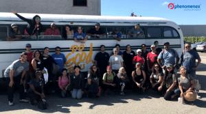 Phenomenex Volunteers Take a Ride on the Do Good Bus