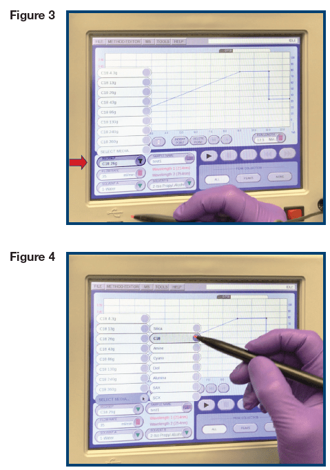 Steps to program your Claricep Flash Column onto a CombiFlash Rf Instrument.
