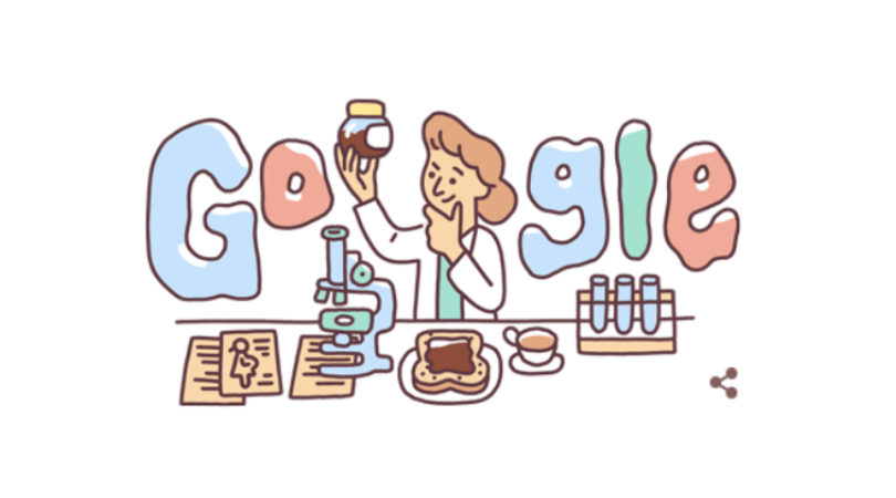 Google Doodle honors Lucy Wills for her work with prenatal care