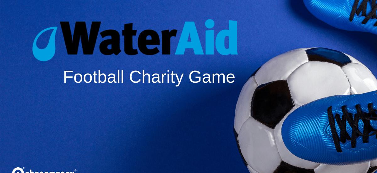 WaterAid Phenomenex and Hach football game