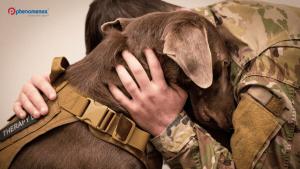 Next Step Service Dogs Pay a Visit to Phenomenex
