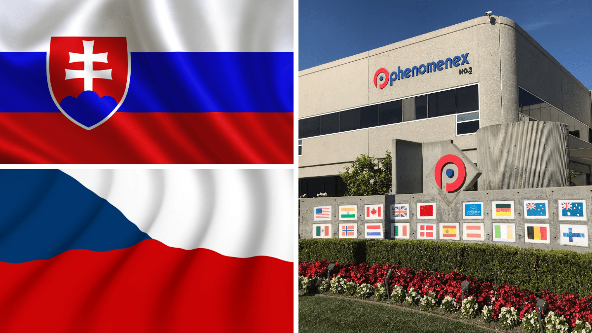 Phenomenex Goes Direct in Slovakia and Czech Republic