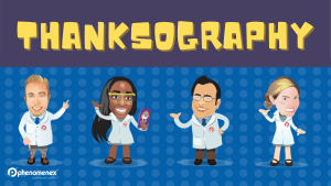 Thanksography: Giving Thanks to Our Chromatographic Analysis