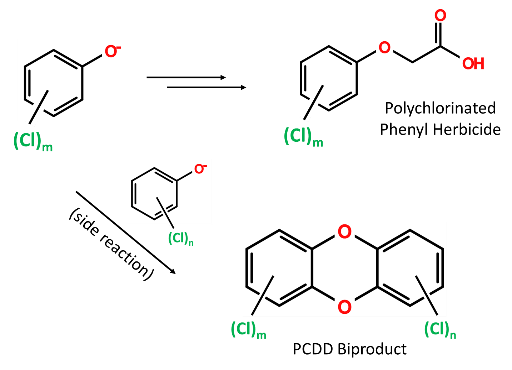 PCDD Biproduct and Herbicide