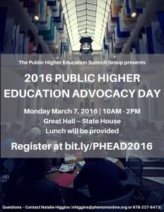 PHEAD 2016 Flyer