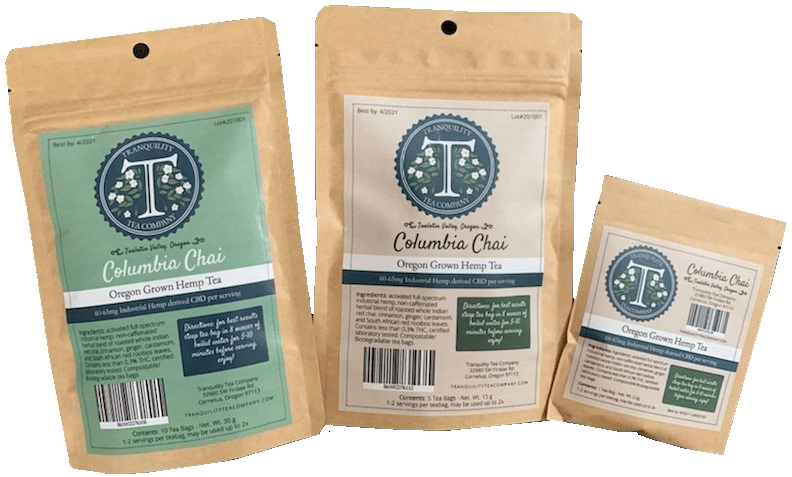 Tranquility Columbia Chai Tea - 10 count