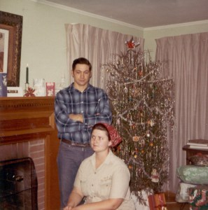 Oliver & Lana-Christmas 1970