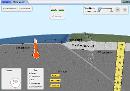 Screenshot of the simulation Plate Tectonics